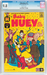 Baby Huey, the Baby Giant #31 File Copy (Harvey, 1961) CGC NM/MT 9.8 Off-white pages