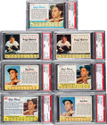 Baseball Cards:Lots, 1961 - 1963 Post Cereal and Jell-O PSA Graded Collection (7) ...