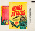 "Non-Sport Cards:Singles (Pre-1950), 1962 Topps ""Mars Attacks"" 5-Cent Wax Paper Wrapper. ..."