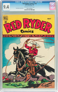 Red Ryder Comics #70 (Dell, 1949) CGC NM 9.4 Off-white to white pages