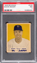 Baseball Cards:Singles (1940-1949), 1949 Bowman Duke Snider #226 PSA NM 7....