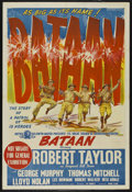 "Movie Posters:War, Bataan (MGM, 1943). Australian One Sheet (27"" X 40""). War. ..."