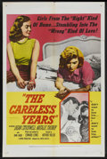 """Movie Posters:Bad Girl, The Careless Years (United Artists, 1958). One Sheet (27"""" X 41"""").Bad Girl. ..."""