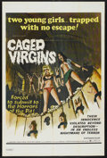 "Movie Posters:Sexploitation, Caged Virgins (Box Office International, 1971). One Sheet (27"" X41""). Sexploitation. ..."