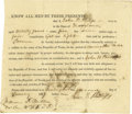 Autographs:Military Figures, William P. Miller Partly Printed Document Signed ...