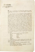 Books:Pamphlets & Tracts, [Circular] Federal Districts and Commissaries Established. ...