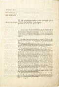 Books:Pamphlets & Tracts, General Colonization Law of Mexico - January 4, 1823. ...