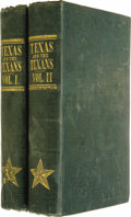 Books:Non-fiction, Henry Stuart Foote: Texas and the Texans;...