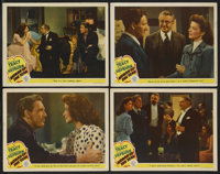 """Woman of the Year (MGM, 1942) Title Card (1) Lobby Cards (4) (11"""" X 14""""). Katharine Hepburn and Spencer Tracy..."""