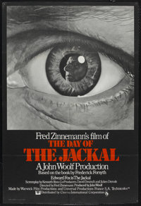 "The Day of the Jackal (Universal, 1973). British One Sheet (27"" X 40""). Thriller"