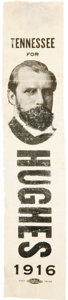 Political:Ribbons & Badges, Charles E. Hughes: A Rare Tennessee Campaign Button....