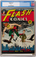 Golden Age (1938-1955):Superhero, Flash Comics #53 (DC, 1944) CGC VF/NM 9.0 White pages....