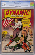 Golden Age (1938-1955):Adventure, Dynamic Comics #1 (Chesler, 1941) CGC FN/VF 7.0 White pages....