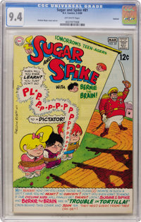 Sugar and Spike #81 Oakland pedigree (DC, 1969) CGC NM 9.4 Off-white pages