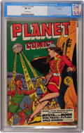 Golden Age (1938-1955):Science Fiction, Planet Comics #59 Rockford pedigree (Fiction House, 1949) CGC NM9.4 Off-white pages....