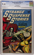 Golden Age (1938-1955):Horror, Strange Suspense Stories #4 Crowley Copy pedigree (Fawcett, 1952)CGC NM 9.4 Off-white to white pages....