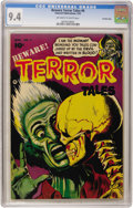 Golden Age (1938-1955):Horror, Beware Terror Tales #6 Crowley Copy pedigree (Fawcett, 1953) CGC NM9.4 Off-white to white pages....