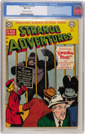 Golden Age (1938-1955):Science Fiction, Strange Adventures #8 (DC, 1951) CGC NM- 9.2 Off-white to whitepages....