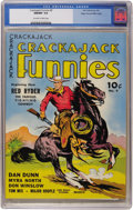 Golden Age (1938-1955):Western, Crackajack Funnies #9 Mile High pedigree (Dell, 1939) CGC NM/MT 9.8 Off-white to white pages....