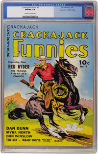 Crackajack Funnies #9 Mile High pedigree (Dell, 1939) CGC NM/MT 9.8 Off-white to white pages