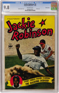 Golden Age (1938-1955):Miscellaneous, Jackie Robinson #4 Crowley Copy pedigree (Fawcett, 1950) CGC NM/MT 9.8 Off-white pages....