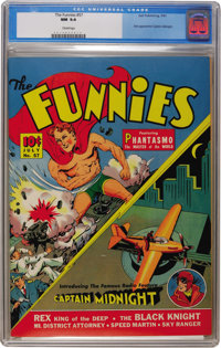 The Funnies #57 (Dell, 1941) CGC NM 9.4 Cream pages