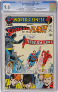 Bronze Age (1970-1979):Superhero, World's Finest Comics #199 (DC, 1970) CGC NM+ 9.6 Off-white to white pages....