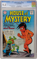 Silver Age (1956-1969):Science Fiction, House of Mystery #143 (DC, 1964) CGC NM- 9.2 Off-white to whitepages....