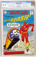 Silver Age (1956-1969):Superhero, Showcase #13 The Flash (DC, 1958) CGC VF 8.0 Off-white pages....