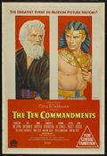 "Movie Posters:Historical Drama, The Ten Commandments (Paramount, 1956). Australian One Sheet (27"" X40""). Historical Drama. ..."