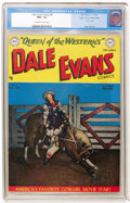 Golden Age (1938-1955):Western, Dale Evans Comics #8 Mile High pedigree (DC, 1949) CGC NM+ 9.6Off-white to white pages....
