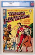 Golden Age (1938-1955):Science Fiction, Strange Adventures #19 (DC, 1952) CGC NM+ 9.6 Off-white to whitepages....