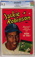Golden Age (1938-1955):Miscellaneous, Jackie Robinson #5 Crowley Copy pedigree (Fawcett, 1951) CGC NM- 9.2 Off-white pages....
