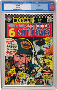 Our Army at War #177 Boston pedigree (DC, 1967) CGC NM 9.4 Off-white pages