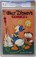 Golden Age (1938-1955):Cartoon Character, Walt Disney's Comics and Stories #131 (Dell, 1951) CGC NM- 9.2Off-white to white pages...