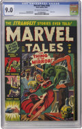Golden Age (1938-1955):Horror, Marvel Tales #104 (Atlas, 1951) CGC VF/NM 9.0 Off-white to whitepages....