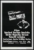 "Movie Posters:Academy Award Winner, The Godfather Part II (Paramount, 1974). One Sheet (27"" X 41"")Tri-Folded. Academy Award Winner. ..."