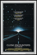 """Movie Posters:Science Fiction, Close Encounters of the Third Kind (Columbia, 1977). One Sheet (27"""" X 41"""") Tri-Folded. Science Fiction. ..."""