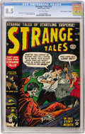 "Golden Age (1938-1955):Horror, Strange Tales #12 Davis Crippen (""D"" Copy) pedigree (Marvel, 1952)CGC VF+ 8.5 Off-white pages...."