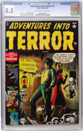 Golden Age (1938-1955):Horror, Adventures Into Terror #11 (Atlas, 1952) CGC VF+ 8.5 Off-white towhite pages....