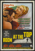 """Movie Posters:Foreign, Room at the Top (Lion International Films, 1959). Australian One Sheet (27"""" X 40""""). Foreign. ..."""