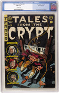 Golden Age (1938-1955):Horror, Tales From the Crypt #44 Gaines File pedigree 3/12 (EC, 1954) CGCNM+ 9.6 Off-white pages....
