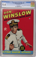 """Golden Age (1938-1955):War, Don Winslow of the Navy #65 - Double Cover - Davis Crippen (""""D"""" Copy) pedigree (Fawcett, 1951) CGC NM 9.4 Off-white pages...."""