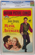Golden Age (1938-1955):Miscellaneous, Motion Picture Comics #108 Mask of the Avenger - Crowley Copy pedigree (Fawcett, 1952) CGC NM 9.4 Off-white to white pages....