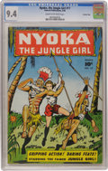 Golden Age (1938-1955):Adventure, Nyoka the Jungle Girl #17 Crowley Copy pedigree (Fawcett, 1948) CGC NM 9.4 Cream to off-white pages....