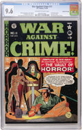 Golden Age (1938-1955):Crime, War Against Crime #11 Gaines File pedigree (EC, 1950) CGC NM+ 9.6 Off-white to white pages....