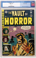 Golden Age (1938-1955):Horror, Vault of Horror #17 Gaines File pedigree (EC, 1951) CGC NM+ 9.6White pages....