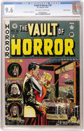 Golden Age (1938-1955):Horror, Vault of Horror #18 Gaines File pedigree (EC, 1951) CGC NM+ 9.6Off-white to white pages....