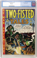 Golden Age (1938-1955):War, Two-Fisted Tales #25 Gaines File pedigree 7/10 (EC, 1952) CGC NM9.4 Off-white pages....