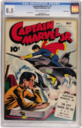 Golden Age (1938-1955):Superhero, Captain Marvel Jr. #7 Crowley Copy pedigree (Fawcett, 1943) CGC VF+ 8.5 Cream to off-white pages....